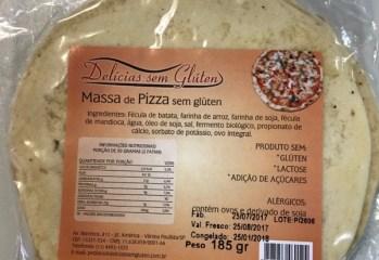 Massa de Pizza Delícias Sem Glúten