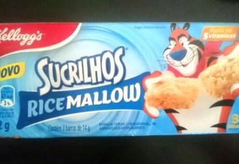Barra de Cereais com Marshmallow Ricemallow Sucrilhos Kelloggs