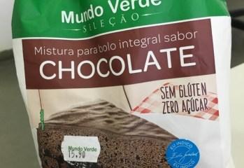 Mistura para Bolo Integral Sabor Chocolate Mundo Verde