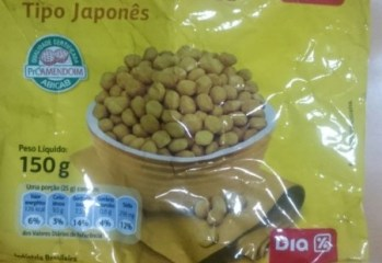 Amendoim Tipo Japonês Dia