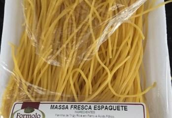 Massa Fresca Espaguete Formolo