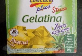 Gelatina Abacaxi Zero Lowcucar