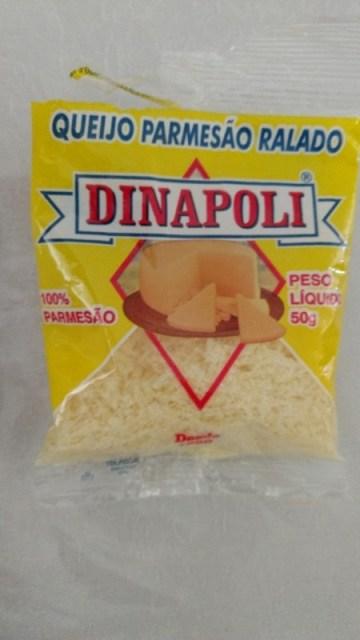 Queijo Parmesao Ralado Dinapoli