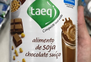 Alimento de Soja Chocolate Suiço Taeq