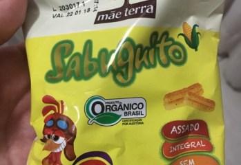 Salgadinho Integral Sabuguito Organico Gol Mae Terra