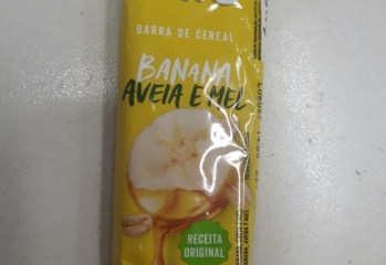 Barra de Cereal Banana, Aveia e Mel Trio