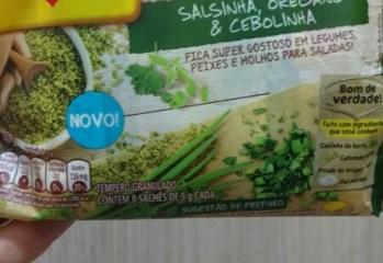 Tempero Granulado Natusabor Salsinha, Oregano e Cebolinha Maggi