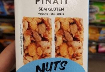 Barra Nuts Original de Amendoim, Castanhas e Semente Pinati