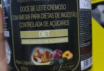 Doce de Leite Cremoso com Ameixa Diet Haribol