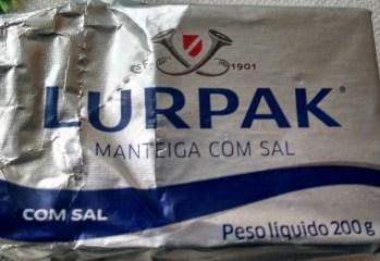 Manteiga Com Sal Lurpak
