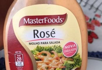 Molho Para Salada Rosé Master Foods
