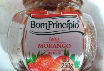 Geleia Morango Bom Principio