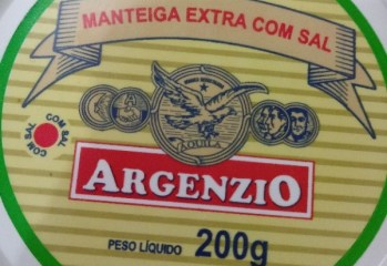 Manteiga Extra Com Sal Argenzio