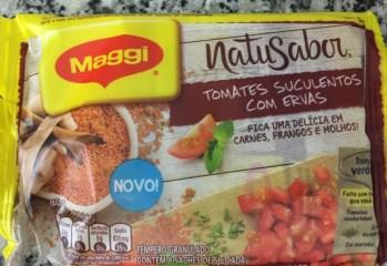 Tempero Granulado Natusabor Tomates Suculentos com Ervas Maggi