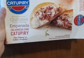 Empanada Calabresa com Catupiry Catupiry