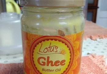 Butter Oil Ghee Lotus