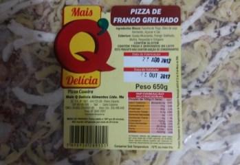 Pizza de Frango Grelhado Mais Q Delícia