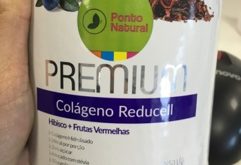 Colageno Reducell Hibisco + Frutas Vermelhas Ponto Natural
