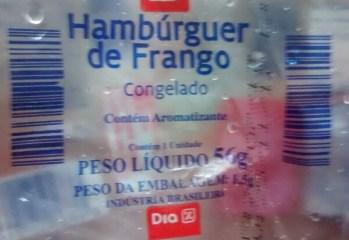 Hambúrguer de Frango Congelado Dia