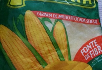 Farinha de Milho Flocada Sem Sal Cuscuz Maratá