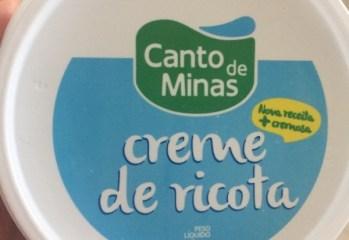 Creme de Ricota Canto de Minas