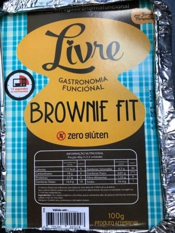 Brownie Fit Livre Gastronomia Funcional