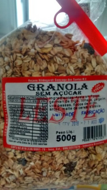 Granola Sem Açúcar Leste