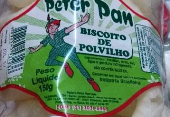 Biscoito de Polvilho Padaria Peter Pan