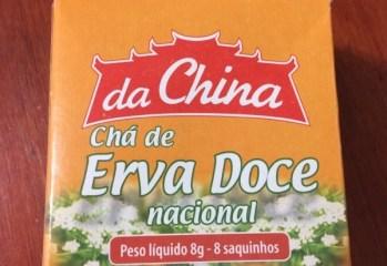 Chá de Erva Doce Nacional Da China