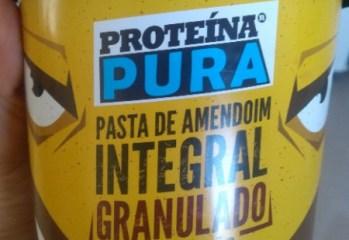 Pasta de Amendoim Integral Granulado Proteína Pura