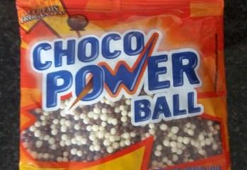 Cereal com Cobertura Sabor Chocolate ao Leite e Branco Choco Power Ball Mavalério