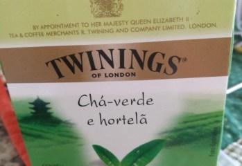 Chá-verde e Hortelã Twinings