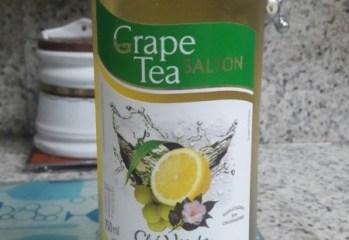 Grape Tea Chá Verde com Uva Moscato e Sabor Limão Siciliano e Erva Cidreira Salton