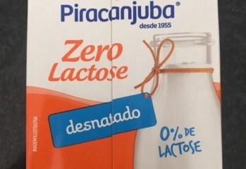 Leite UHT Desnatado Zero Lactose Piracanjuba