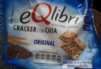 Cracker com Chia Sabor Original Eqlibri