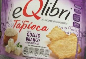Biscoito com Tapioca Sabor Queijo Branco com Orégano Eqlibri