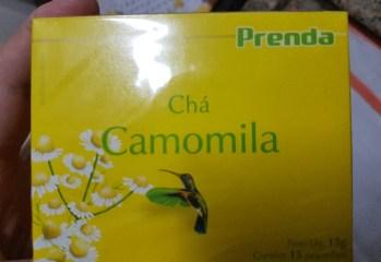 Chá Camomila Prenda