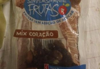 Mix Coração Simplesmente Frutas