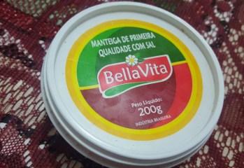 Manteiga de Primeira Qualidade Com Sal BellaVita