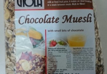 Cereal Chocolate Muesli Viola
