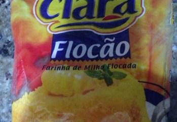 Farinha de Milho Flocada Flocão Dona Clara