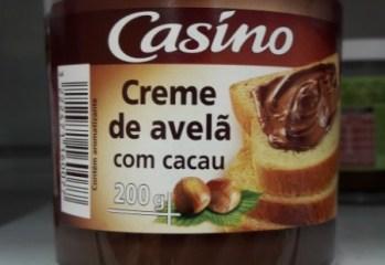Creme de Avelã com Cacau Casíno