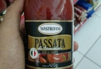 Purê de Tomates Passata di Pomodori Mastroiani