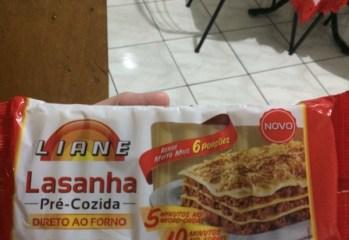 Lasanha Pré-Cozida Liane