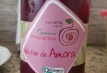 Néctar de Amora Orgânico Pérola da Terra