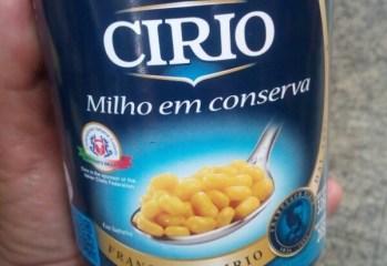 Milho em Conserva Cirio
