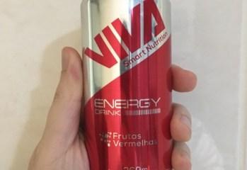 Energy Drink Sabor Frutas Vermelhas Viva Smart Drinks