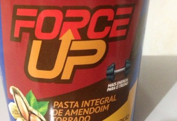 Pasta Integral de Amendoim Torrado Force Up