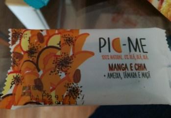 Barra de Frutas Manga e Chia Pic-Me