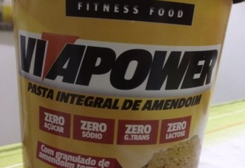 Pasta Integra de Amendoim Zero Vitapower